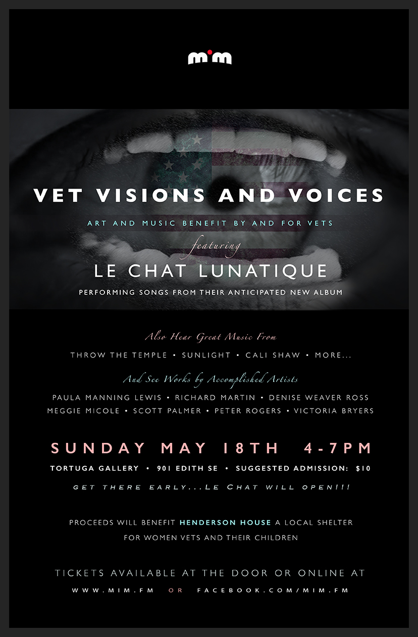 Vet Visions and Voices poster Tools used: Nokia Lumia 920 Adobe Photoshop Adobe Illustrator
