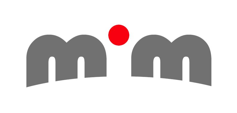 mim.fm logo Tools Used: Adobe Illustrator