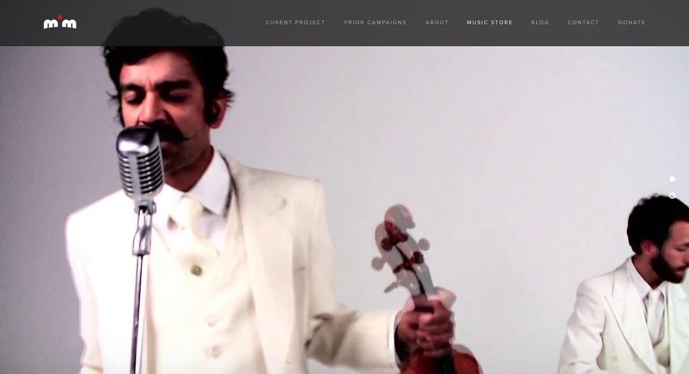 mim.fm screenshot - music store