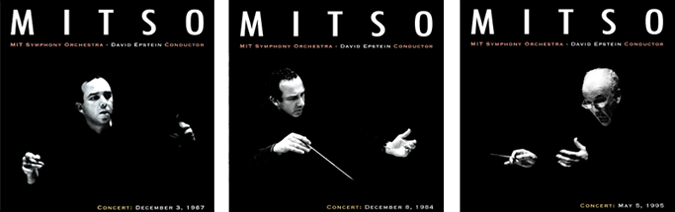"""Three Decades of David Epstein""  MITSO (MIT Symphony Orchestra) CD project    Tools used:    Adobe Photoshop Adobe InDesign"