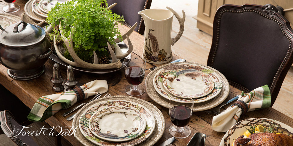Forest Walk Dinnerware  for Juliska