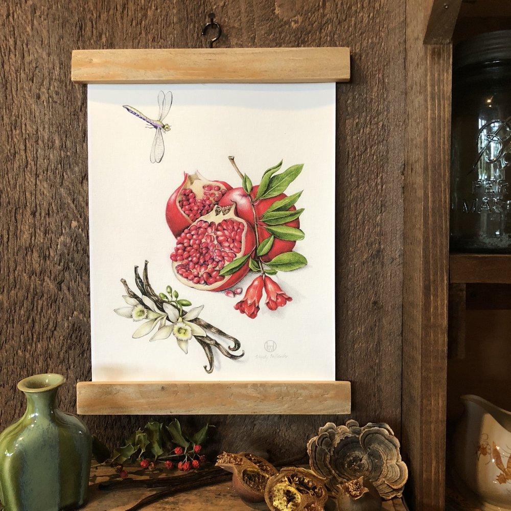 Pomegranate and Vanilla