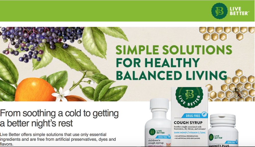 Live Better Herbal Cold Remedies
