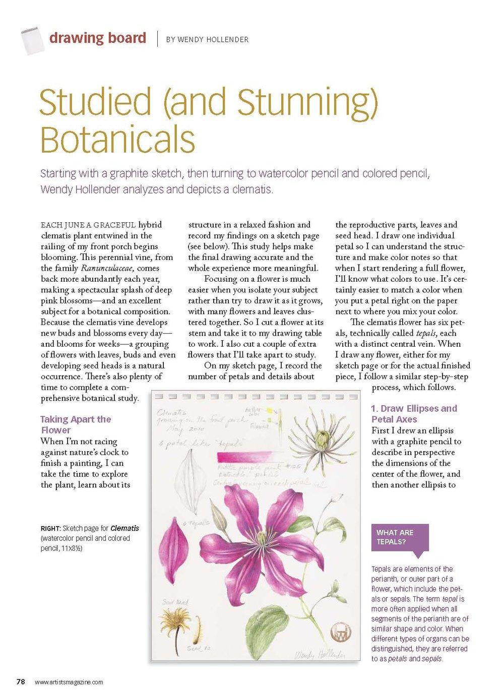 Artist's Magazine May 2011