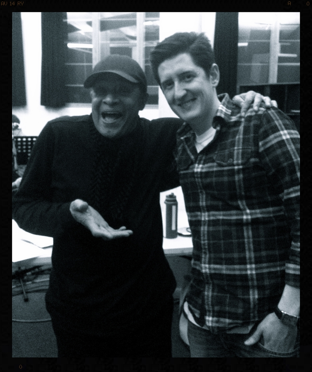 With Al Jarreau, Music Bank Feb '14