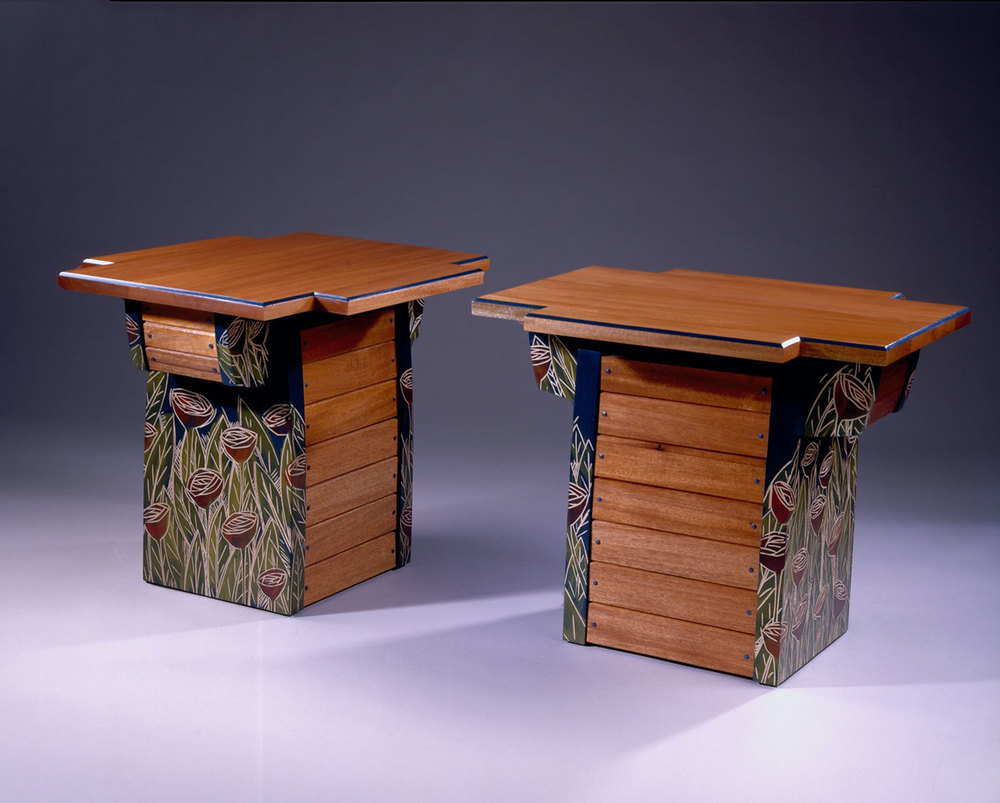 Rose Field Tables