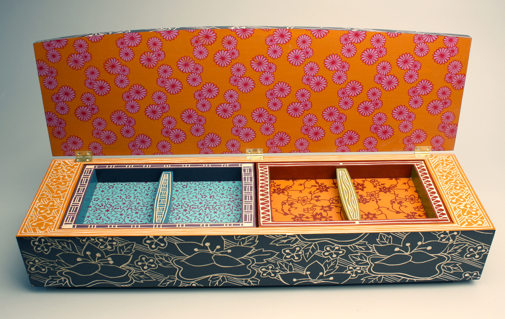 Purple Lotus Box (inside view)