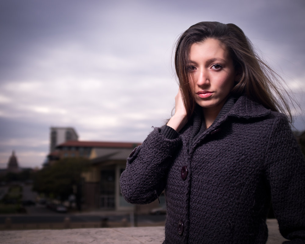 Model: Carol - 1/500, f/2.8, ISO 200, built-in ND filter