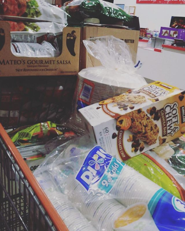 Doing some last minute shopping for our service at the OTR Soup Kitchen tomorrow morning! 🍜#feedcincy #feedOTR