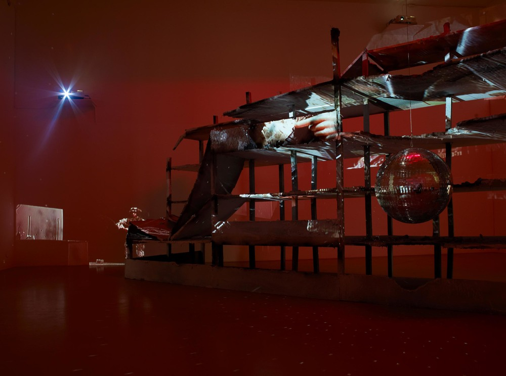 Installation view, Juan-Pedro Fabra Guemberena, Juba – an intimate history of sniping, 2008