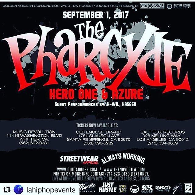 5$ show!  @thepharcyde #thepharcyde #novola #la