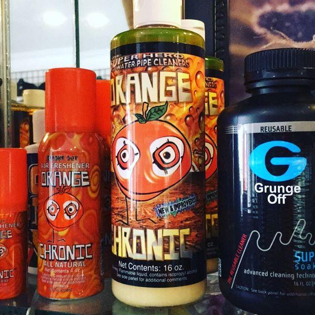 Time to clean #orangechronic #spray #cleaner #grungeoff