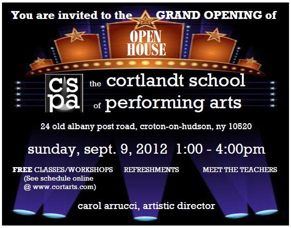 Grand Opening invitation.