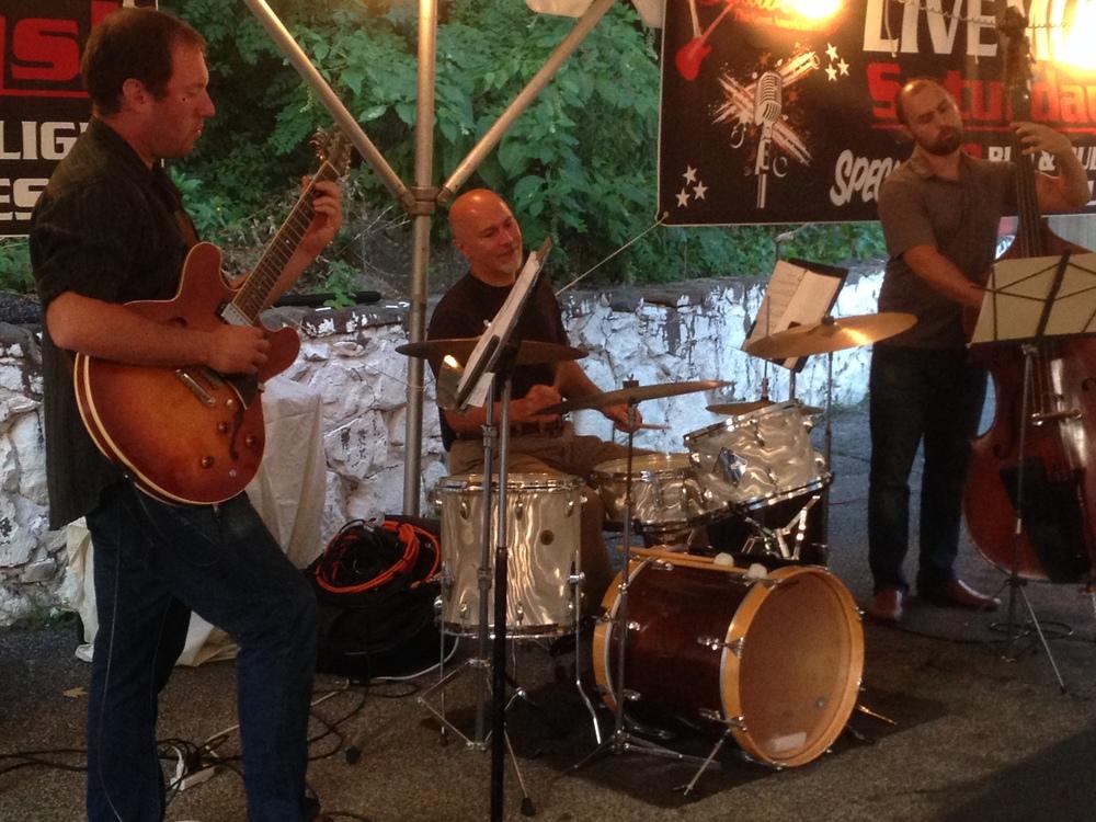 John Arrucci Trio at Tenampa, CSPA Summer Series, August 2014