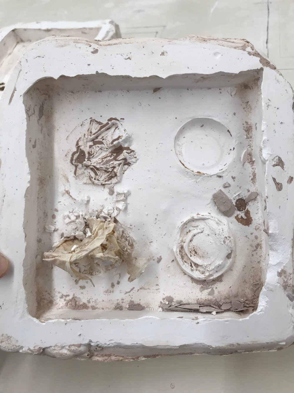 Tile mold with issues .