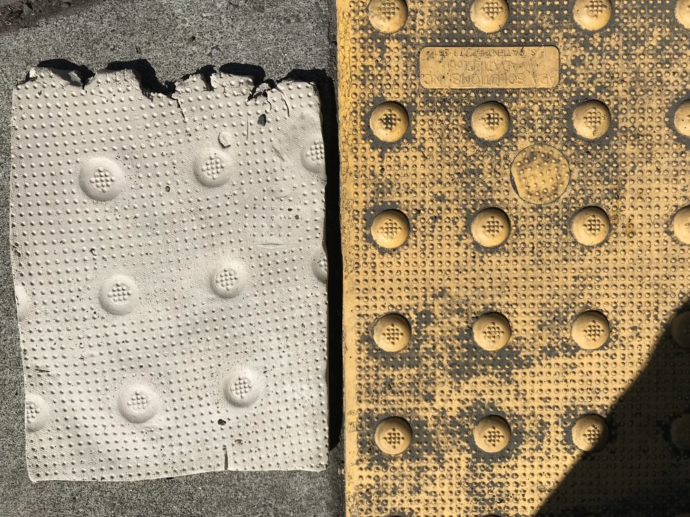 Pressing molds off 13th & Division.