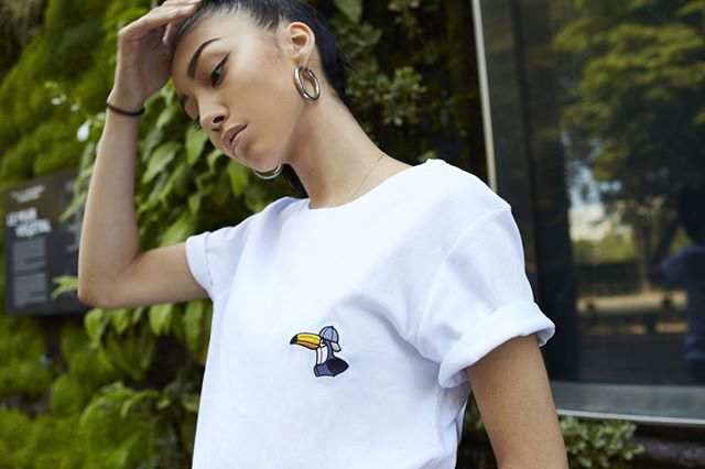 🐧Summer 18 Toucan T-Shirt. Link in bio for details @jeanlouiscasquette