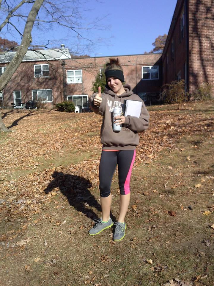This picture is from week 1 day 1 of my sprinting experiment back in 2013!! :O