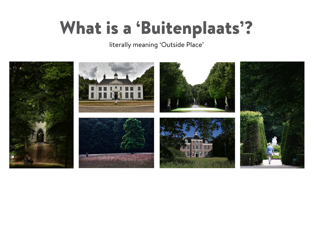 What is a 'buitenplaats'?