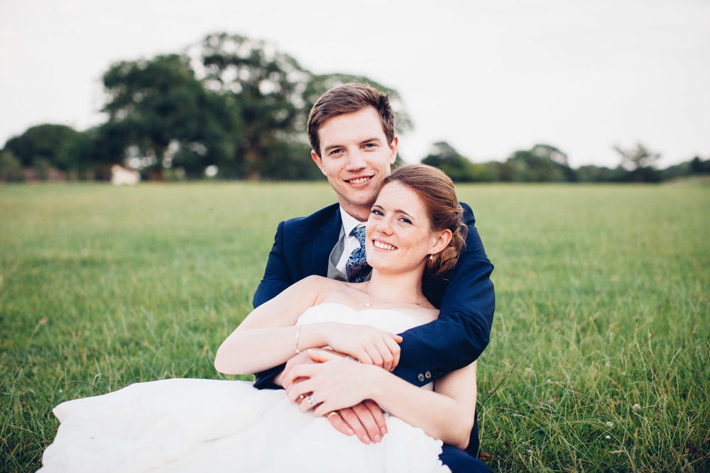 Will and Caroline - Lymmington