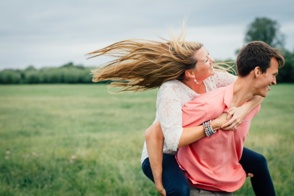 Engagement Shoot - Port Meadow, Oxford
