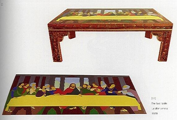 The Last Table (La ultima mesa) 1970, Beatriz González