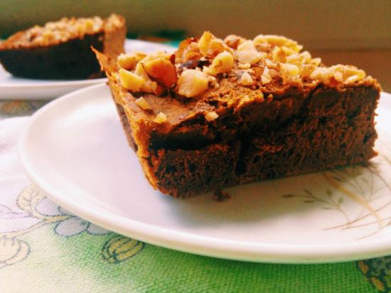 pumpkin pie brownies recipe 2