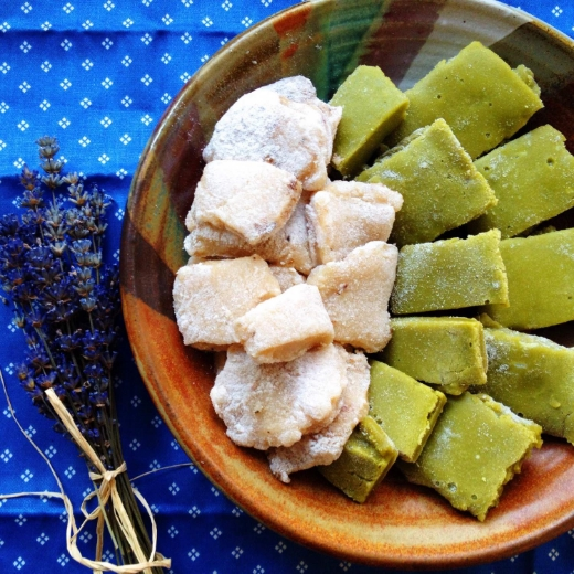 green tea and lavender mochi recipe 2.JPG