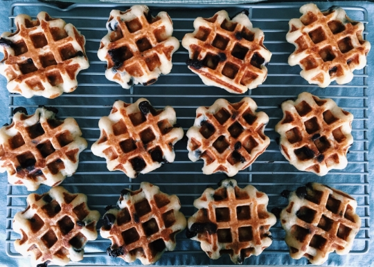miso chocolate chip waffles 4