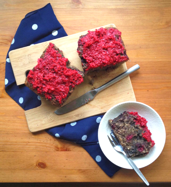 Raspberry Poppy Seed Coconut Loaf Recipe 1