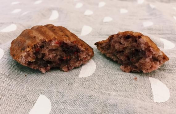 raspberry rose madeleines recipe 4