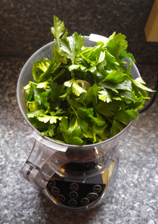 parsley pesto recipe 1
