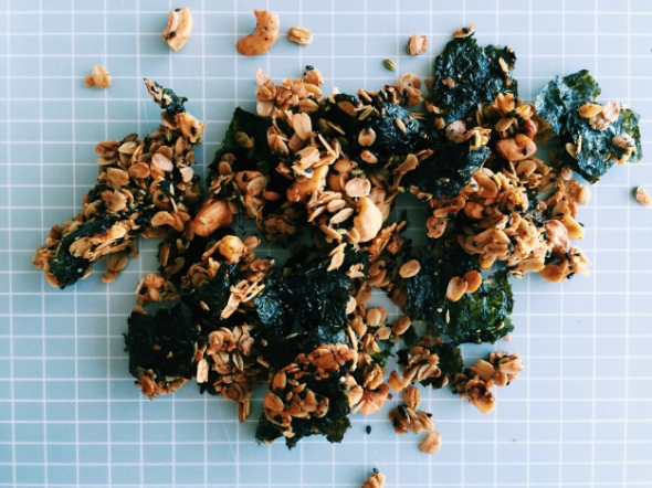 nori granola recipe