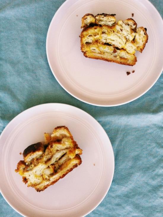 pumpkin croissant loaf recipe 1