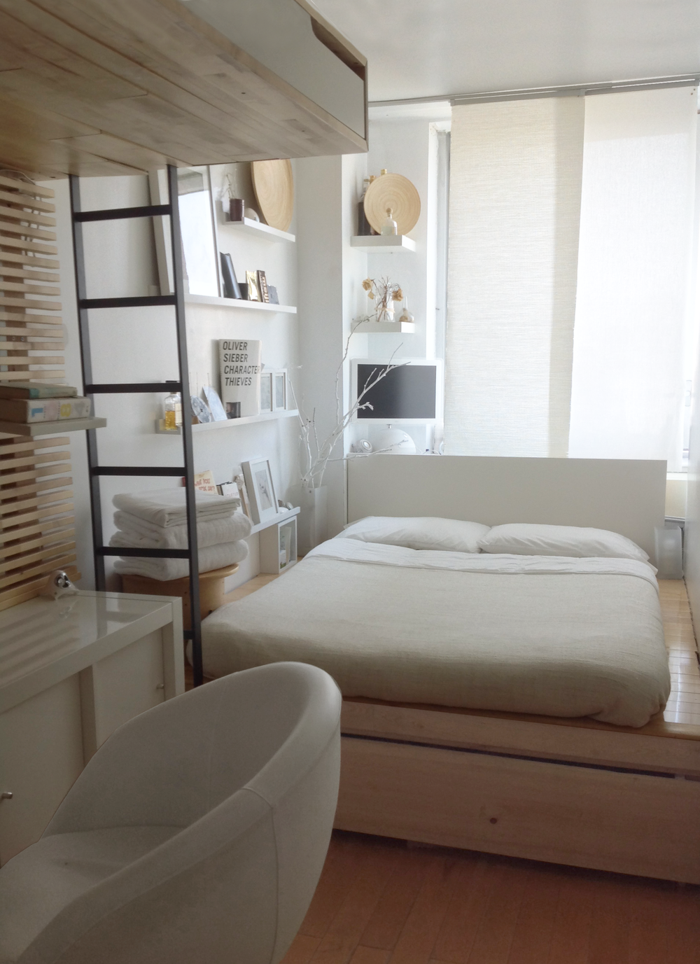 Steve I-Lin Chung - Apartment Therapy - The Big Reveal - Muji Inspired Room