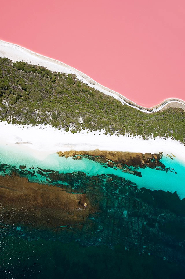 Lake Hillier Helicopter Tour