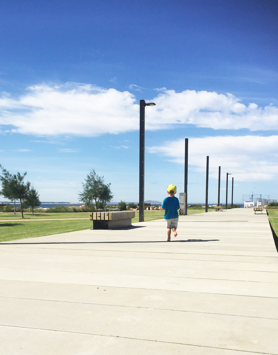 Boardwalks and trails on the Esperance foreshore