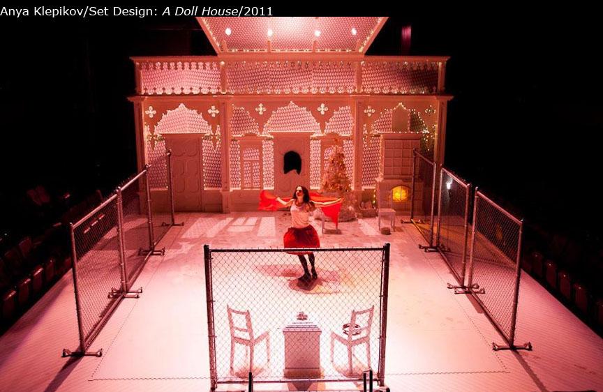 A Doll House Set Costumes Anya Klepikov