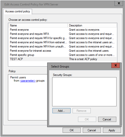 Access Control Policies In AD FS For Windows Server Technical - Access control policy template