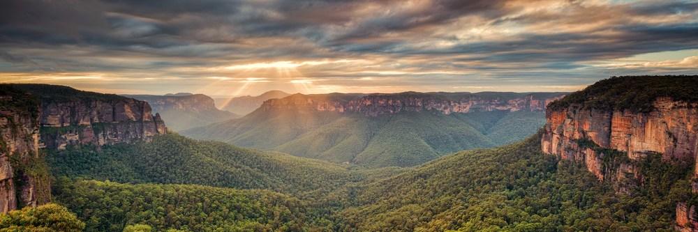 Govett's Rays - Panorama