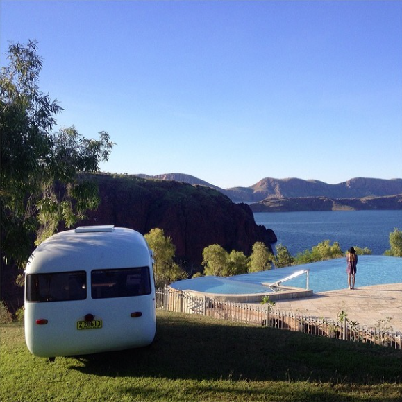Lake Argyle Caravan Park - infinity pool
