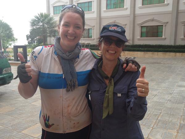 Amy Heague & Kerrie Moran - C4C 2013 Organisers