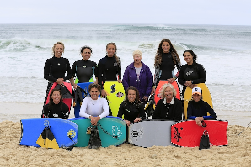 Female Competitors at the 2014 JWM with Mrs Wilcox.  Back Row L-R: Shauna Gillett, Melynne Rosamond, Sam Gillett, Mrs Wilcox, Tiegan Gillett, Ana Zadra Front Row L-R: Emma Roby, France Hazar, Emma Cobb, Eve Albury, Mandy Zieren  Photo by Alan McCheane
