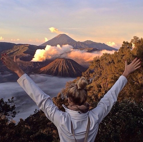 Photo credit @pennyparadise Mount Bromo Indonesia