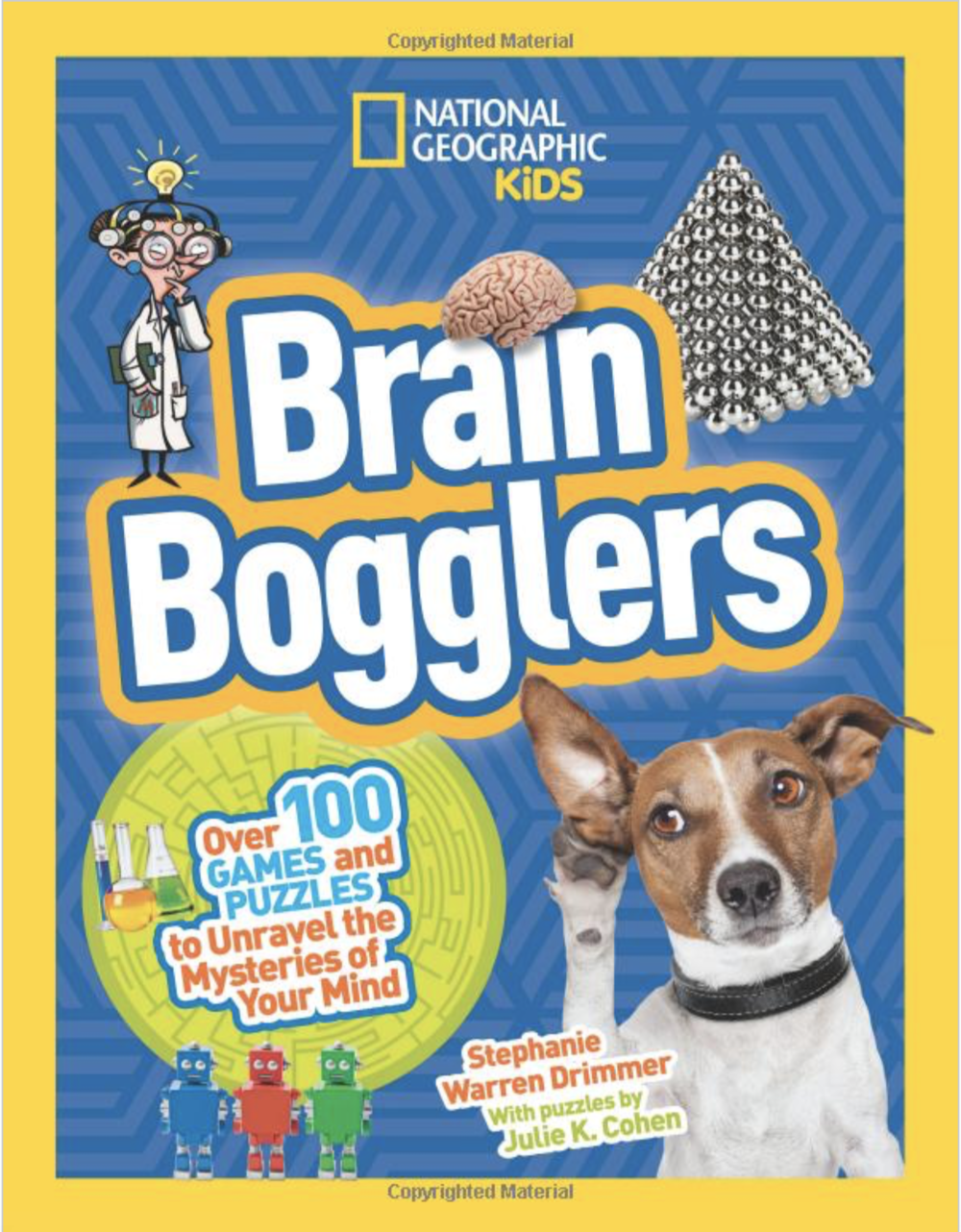 Get ready to challenge yourself in this super-fun write-in activity book chock-full of amazing puzzles, games, and brain facts all about the mysteries of your own mind! Follow zany narrator and superbraniac Ima Genius and her talking dog Atom to get snappy explanations of why and how your brain deals with memory, sleep, vision, fear, mind control, and so much more!