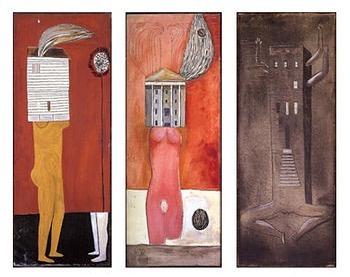 Femme Maison (1946-47), Louise Bourgeois #research #femmemaison