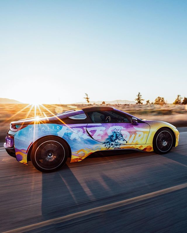 @bmwi x @thegr8khalid for @mirroredmedia 's #roadtocoachella // Check out the video on @coachella 's feed!!