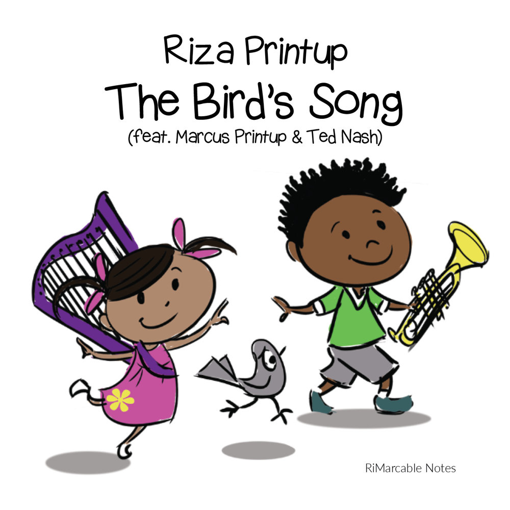 *CD* The Bird's Song, by Riza Printup (audio book and song)