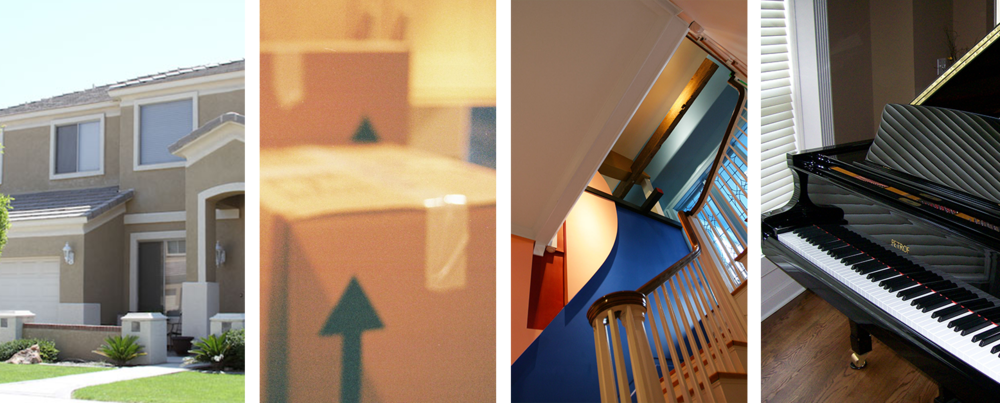 Residential Moving Company - Image Collage