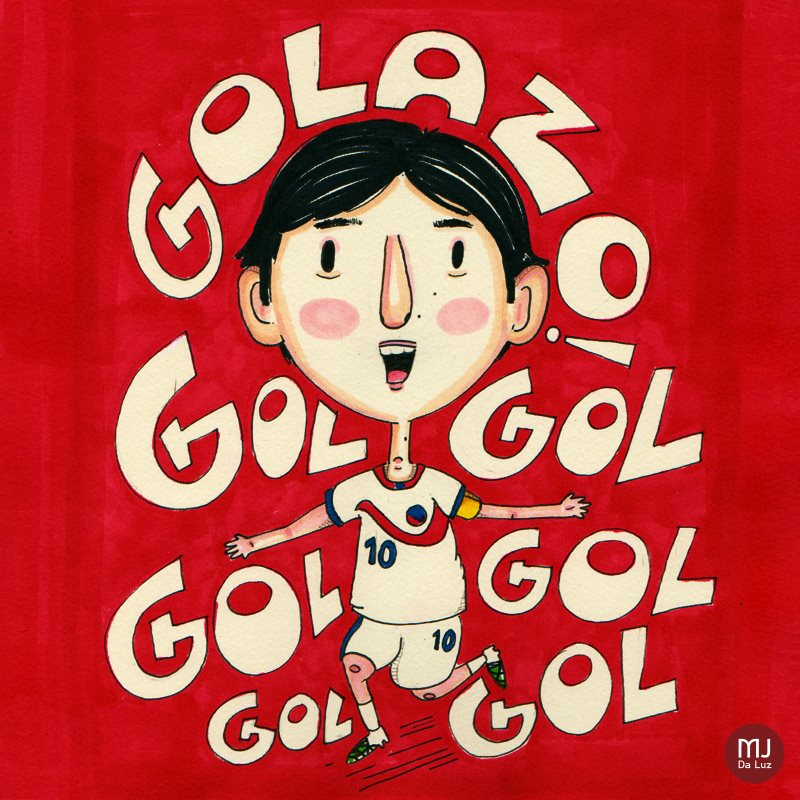 """Golazo"" por MJ Da Luz"